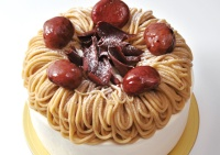 マロンケーキ(栗サンド)