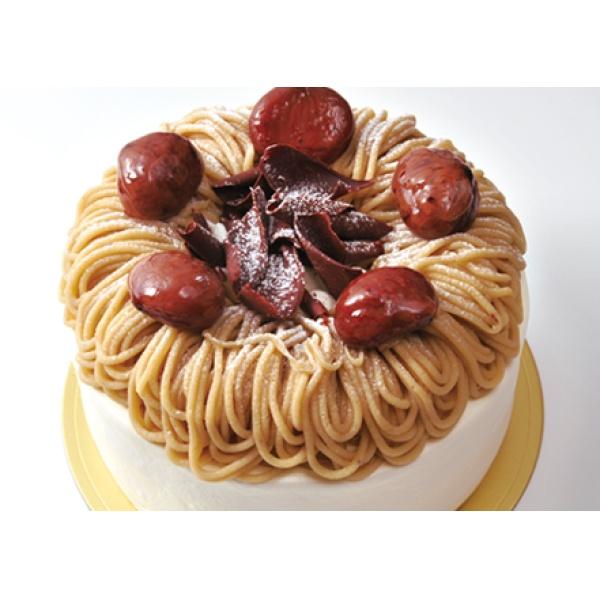 画像1: マロンケーキ(栗サンド)